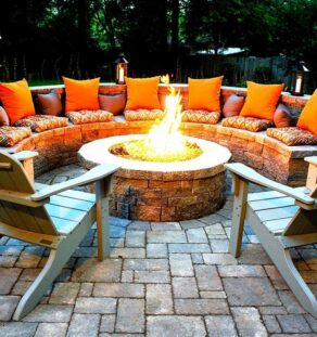 Outdoor Fire Pits-Fort Worth TX Professional Landscapers & Outdoor Living Designs-We offer Landscape Design, Outdoor Patios & Pergolas, Outdoor Living Spaces, Stonescapes, Residential & Commercial Landscaping, Irrigation Installation & Repairs, Drainage Systems, Landscape Lighting, Outdoor Living Spaces, Tree Service, Lawn Service, and more.